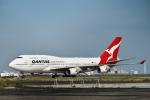 kina309さんが、羽田空港で撮影したカンタス航空 747-438/ERの航空フォト(写真)
