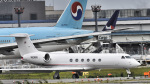 パンダさんが、成田国際空港で撮影したヒューレット・パッカード G-V Gulfstream Vの航空フォト(飛行機 写真・画像)