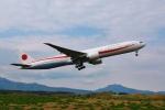 Airway-japanさんが、函館空港で撮影した航空自衛隊 777-3SB/ERの航空フォト(写真)