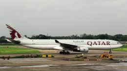 westtowerさんが、シャージャラル国際空港で撮影したカタール航空 A330-302の航空フォト(飛行機 写真・画像)