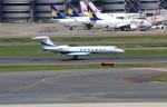 ハム太郎。さんが、羽田空港で撮影したユタ銀行 G500/G550 (G-V)の航空フォト(写真)