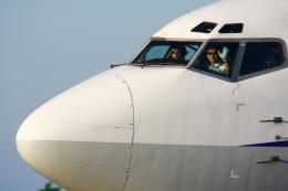 Hiro-hiroさんが、新潟空港で撮影したANAウイングス 737-54Kの航空フォト(飛行機 写真・画像)