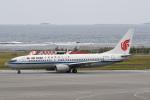 panchiさんが、那覇空港で撮影した中国国際航空 737-808の航空フォト(飛行機 写真・画像)