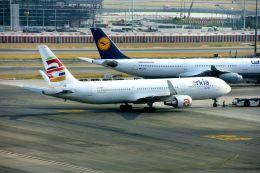 まいけるさんが、スワンナプーム国際空港で撮影したアルキア・イスラエル・エアラインズ 767-306/ERの航空フォト(飛行機 写真・画像)