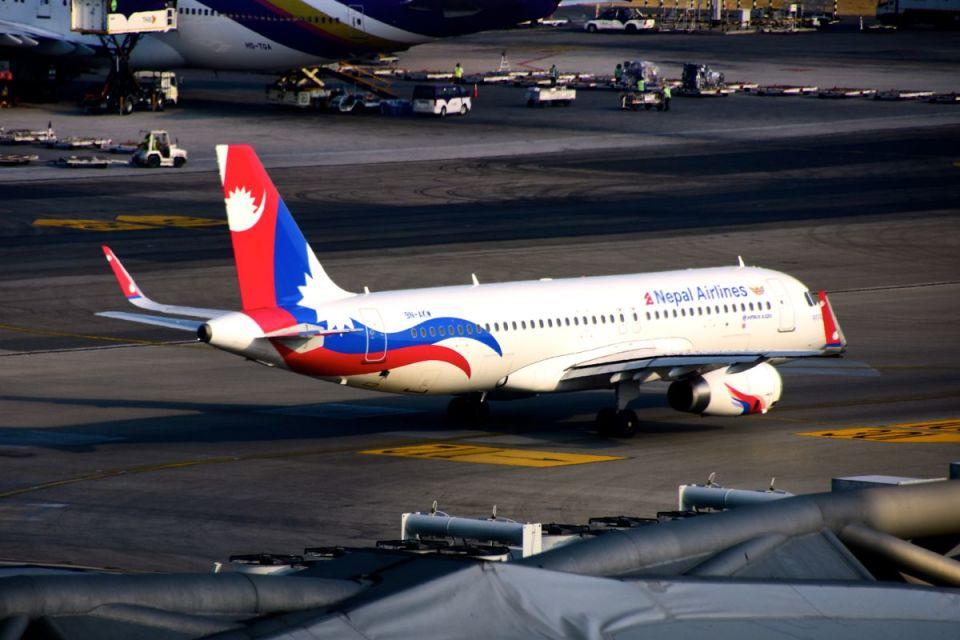 まいけるさんのネパール航空 Airbus A320 (9N-AKW) 航空フォト