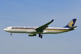 HISAHIさんが、福岡空港で撮影したシンガポール航空 A330-343Xの航空フォト(飛行機 写真・画像)