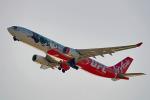 ちゃぽんさんが、関西国際空港で撮影したエアアジア・エックス A330-343Xの航空フォト(写真)