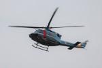 ゆう改めてさんが、福岡空港で撮影した福岡県警察 412EPの航空フォト(写真)