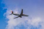 ken_kenさんが、成田国際空港で撮影した中国国際航空 737-89Lの航空フォト(写真)