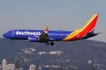 masa707さんが、ロサンゼルス国際空港で撮影したサウスウェスト航空 737-8-MAXの航空フォト(写真)