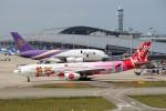 HK Express43さんが、関西国際空港で撮影したタイ・エアアジア・エックス A330-343Xの航空フォト(写真)