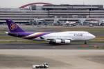 T.Sazenさんが、羽田空港で撮影したタイ国際航空 DC-8-63の航空フォト(飛行機 写真・画像)
