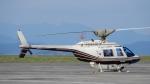 ゴンタさんが、静岡空港で撮影したヘリサービス 206B-3 JetRanger IIIの航空フォト(写真)