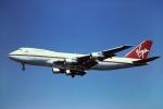 tassさんが、ロンドン・ガトウィック空港で撮影したヴァージン・アトランティック航空 747-238Bの航空フォト(飛行機 写真・画像)