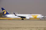 yabyanさんが、成田国際空港で撮影したMIATモンゴル航空 767-34G/ERの航空フォト(写真)