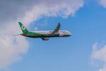 ken_kenさんが、成田国際空港で撮影したエバー航空 787-9の航空フォト(写真)