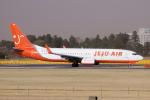 yabyanさんが、成田国際空港で撮影したチェジュ航空 737-86Qの航空フォト(飛行機 写真・画像)