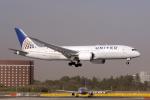 yabyanさんが、成田国際空港で撮影したユナイテッド航空 787-8 Dreamlinerの航空フォト(飛行機 写真・画像)