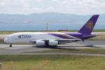 神宮寺ももさんが、関西国際空港で撮影したタイ国際航空 A380-841の航空フォト(写真)