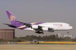 yabyanさんが、成田国際空港で撮影したタイ国際航空 A380-841の航空フォト(飛行機 写真・画像)