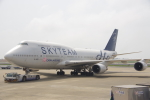 JA8037さんが、台湾桃園国際空港で撮影したチャイナエアライン 747-409の航空フォト(写真)