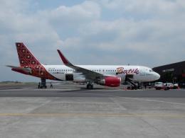 atiiさんが、アジスチプト国際空港で撮影したバティク・エア A320-214の航空フォト(飛行機 写真・画像)