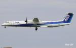 RINA-281さんが、伊丹空港で撮影したANAウイングス DHC-8-402Q Dash 8の航空フォト(写真)