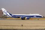 yabyanさんが、成田国際空港で撮影したエアブリッジ・カーゴ・エアラインズ 747-406F/ER/SCDの航空フォト(写真)
