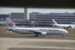 zero1さんが、羽田空港で撮影した日本航空 767-346/ERの航空フォト(飛行機 写真・画像)
