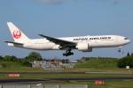 まえちんさんが、成田国際空港で撮影した日本航空 777-246/ERの航空フォト(飛行機 写真・画像)