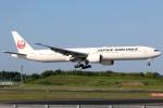 まえちんさんが、成田国際空港で撮影した日本航空 777-346/ERの航空フォト(飛行機 写真・画像)