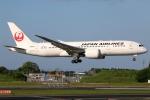 まえちんさんが、成田国際空港で撮影した日本航空 787-8 Dreamlinerの航空フォト(写真)