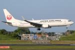まえちんさんが、成田国際空港で撮影した日本航空 737-846の航空フォト(写真)