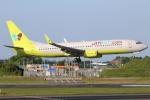 まえちんさんが、成田国際空港で撮影したジンエアー 737-8B5の航空フォト(写真)