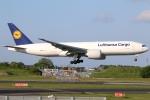 まえちんさんが、成田国際空港で撮影したルフトハンザ・カーゴ 777-FBTの航空フォト(写真)