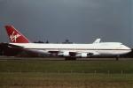 tassさんが、成田国際空港で撮影したヴァージン・アトランティック航空 747-212Bの航空フォト(飛行機 写真・画像)