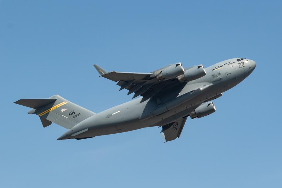 shingenさんのアメリカ空軍 McDonnell Douglas C-17 (90-0533) 航空フォト