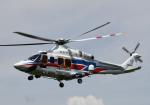 チャーリーマイクさんが、東京ヘリポートで撮影した国土交通省 地方整備局 AW139の航空フォト(写真)