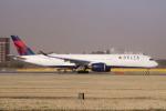 yabyanさんが、成田国際空港で撮影したデルタ航空 A350-941XWBの航空フォト(飛行機 写真・画像)