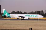 yabyanさんが、成田国際空港で撮影したエアソウル A321-231の航空フォト(飛行機 写真・画像)