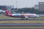 かずまっくすさんが、ニノイ・アキノ国際空港で撮影したフィリピン・エアアジア A320-216の航空フォト(写真)