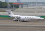 IL-18さんが、羽田空港で撮影した不明  G-V-SP Gulfstream G550の航空フォト(写真)