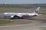 北の熊さんが、新千歳空港で撮影した日本航空 767-346の航空フォト(飛行機 写真・画像)
