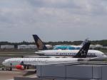 空港快速さんが、成田国際空港で撮影したスカンジナビア航空 A340-313Xの航空フォト(写真)