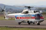 やまけんさんが、仙台空港で撮影した国土交通省 地方整備局 AS332L2 Super Puma Mk2の航空フォト(写真)