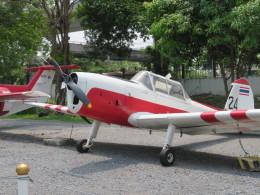 ランチパッドさんが、ドンムアン空港で撮影したタイ王国空軍 DHC-1 Chipmunkの航空フォト(飛行機 写真・画像)
