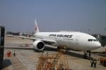 zero1さんが、上海虹橋国際空港で撮影した日本航空 777-246/ERの航空フォト(飛行機 写真・画像)
