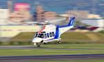 Nao0407さんが、名古屋飛行場で撮影したオールニッポンヘリコプター AW139の航空フォト(写真)