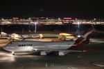 音鉄ドクターイエローさんが、羽田空港で撮影したカンタス航空 747-438/ERの航空フォト(写真)