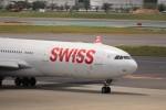 KAZFLYERさんが、成田国際空港で撮影したスイスインターナショナルエアラインズ A340-313Xの航空フォト(飛行機 写真・画像)